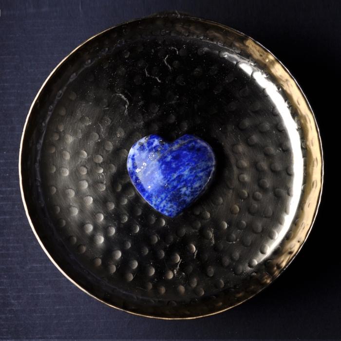 Coeur Lapis Lazuli