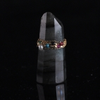 Bague chaine perle