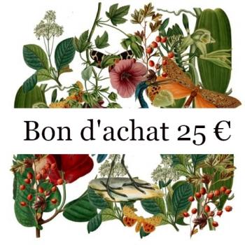BON D ACHAT 25